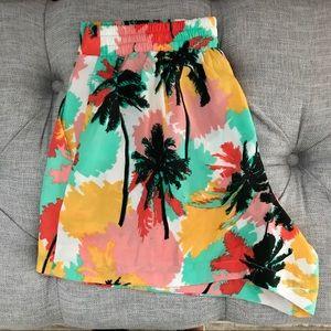 Brand New Palm Tree Shorts